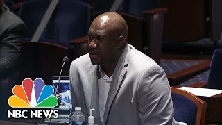 George Floyd's Brother At Hearing On Police Brutality: 'Justice Has To Be Served' | NBC News NOW