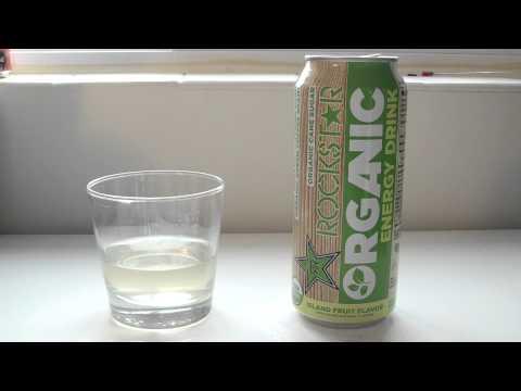 "TPX Reviews - ""Rockstar Energy: Organic (Island Fruit)"""