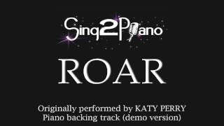 ROAR (Piano Karaoke Version) Katy Perry