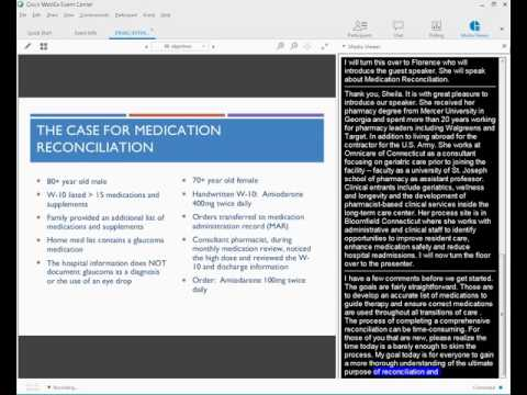 2016 Connecticut INTERACT Series – Medication Reconciliation Tool