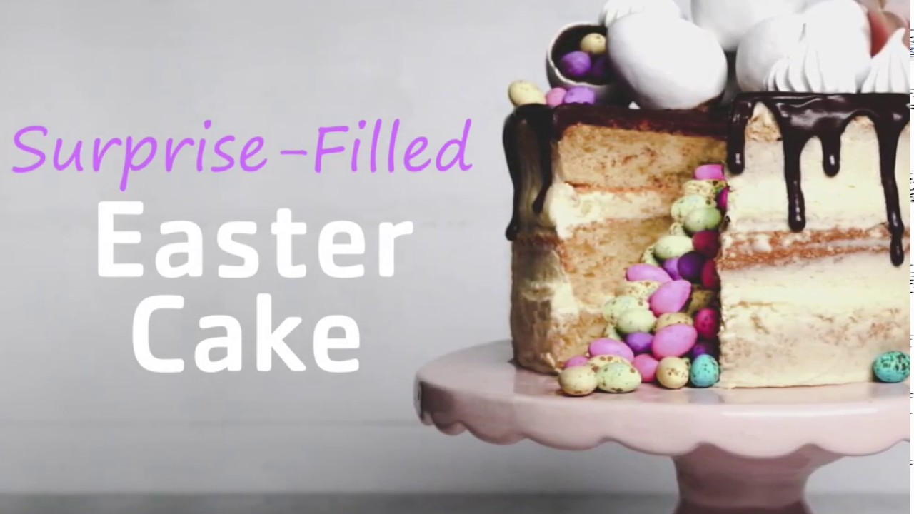 How to make Pick n Pay's Surprise-Filled Easter Cake