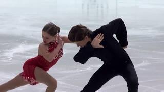 Brown Oona/Brown Gage США | ISU Гран При (юниоры) 2018 Каунас | Ритм танец (танцы на льду)