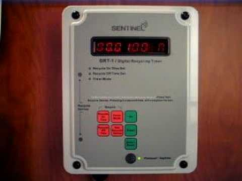 Sentinel drt 1 recycling timer demonstration youtube sentinel drt 1 recycling timer demonstration malvernweather Image collections