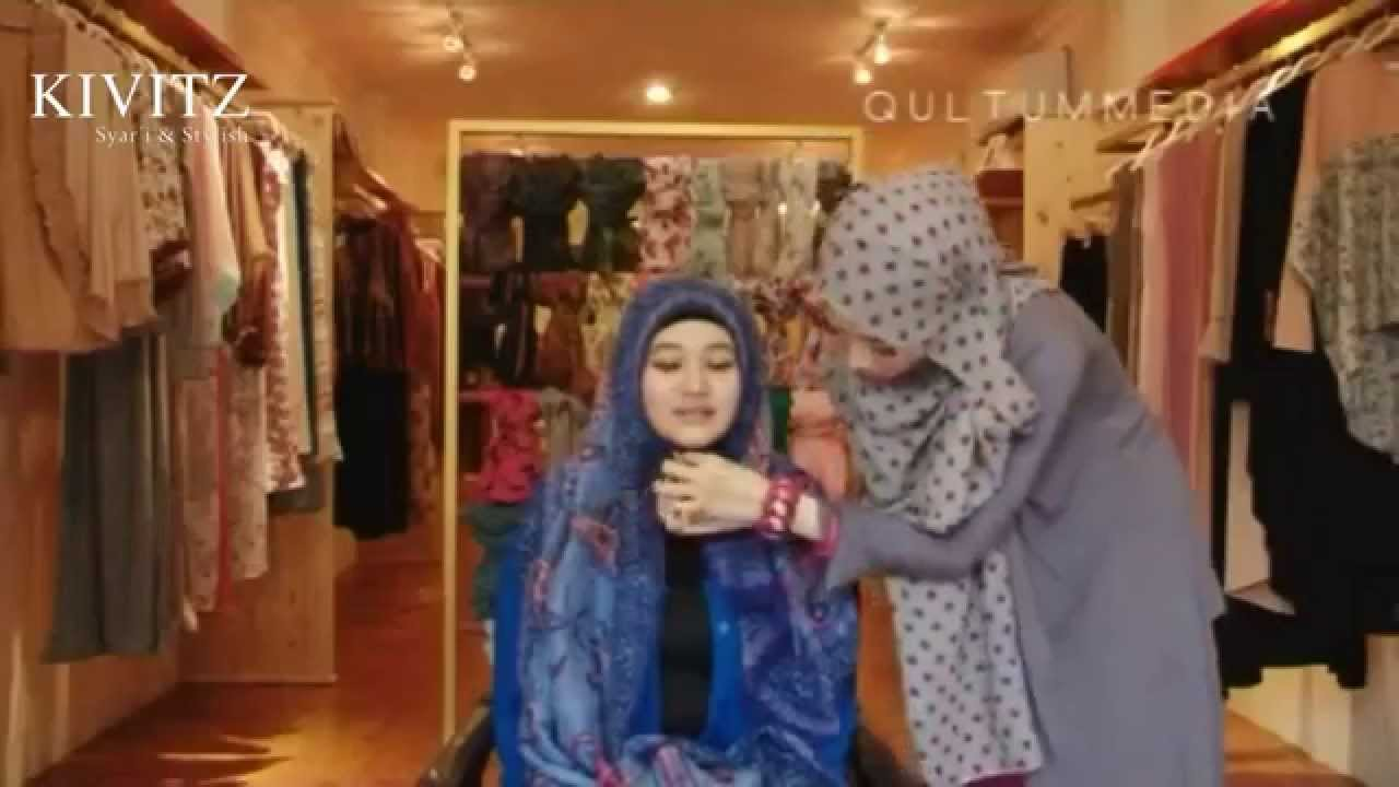 KIVITZ Hijab Tutorial By Fitri Aulia Vol 4 YouTube