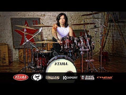 Progressive Rock Drumming - Drum Cam