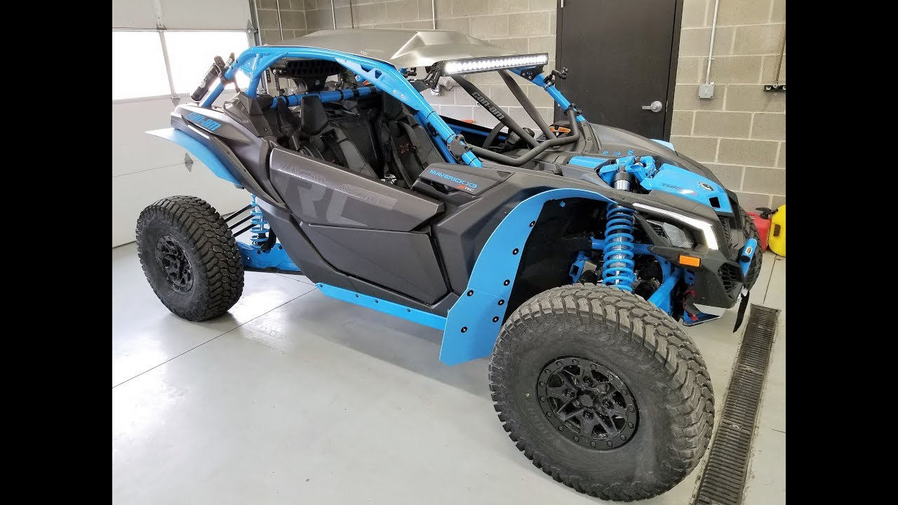 Can Am Mavrick >> 2018 CAN AM MAVERICK X3 XRC BUILD UPDATE REVIEW - YouTube