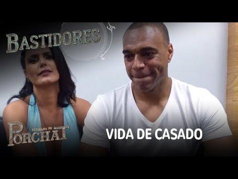 EXCLUSIVO! Denílson E Luciele Di Camargo Falam Sobre A Vida De Casado
