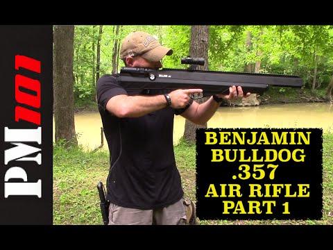 Benjamin Bulldog: First Time Use/Produce Hunting - Preparedmind101