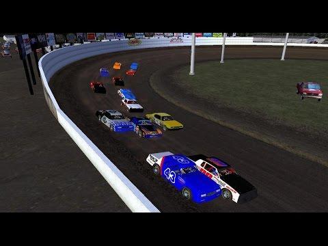 rFactor - DirtWorks Designs Street Stocks - Grays Harbor Raceway Crash