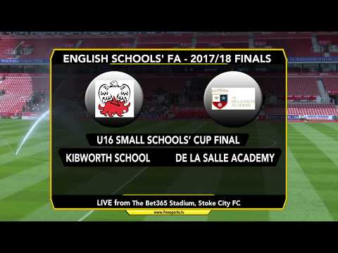 English Schools' FA National Finals @ Stoke City FC - Day 1