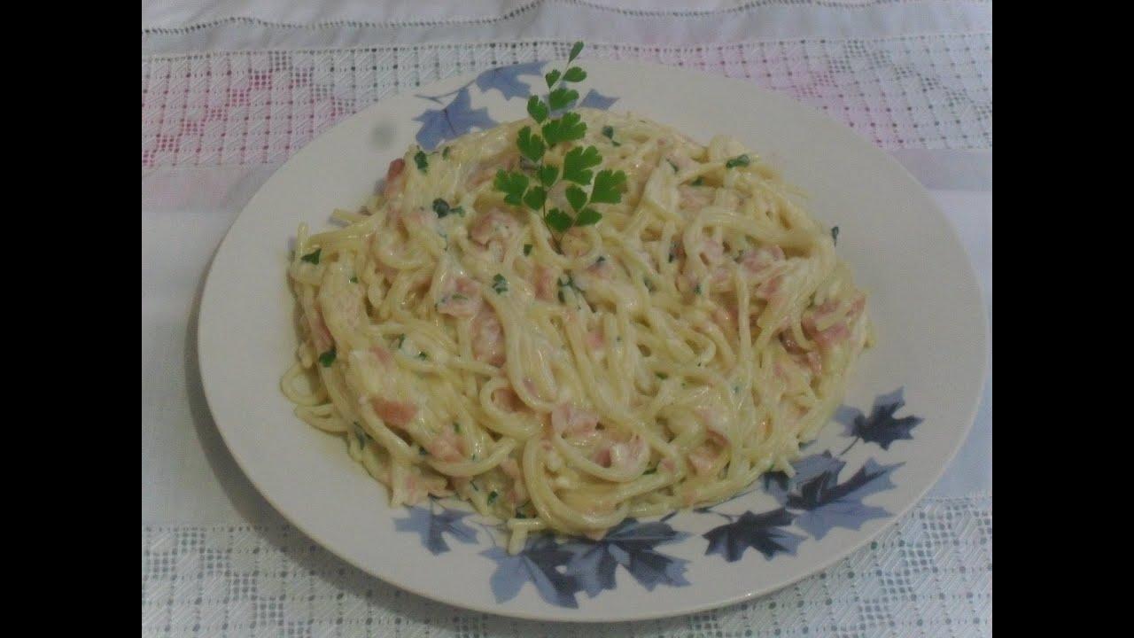pasta de espaguetti blanco como cocinar una pasta blanca