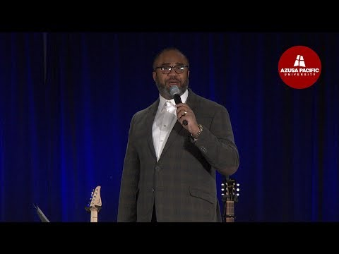 Azusa Pacific Morning Chapel: Albert Tate: Jan 24, 2018