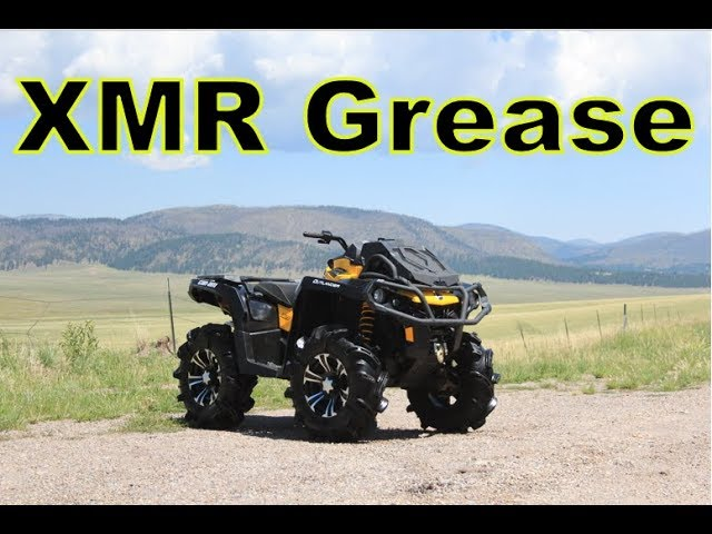 How To Grease Fittings Can Am Outlander XMR (Or Any Gen 2 Can Am ATV)