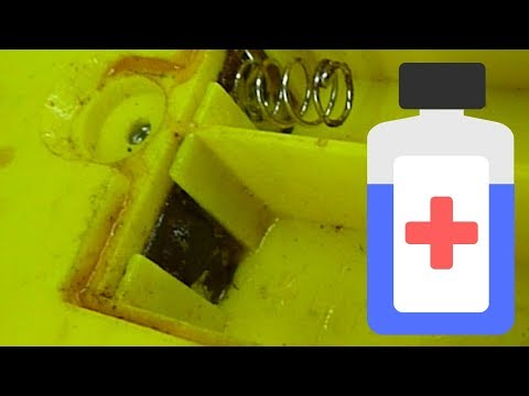 How To Replace Battery Terminals In Toys With Orange Battery Rust On Battery Terminals (Pinky Ponk!)