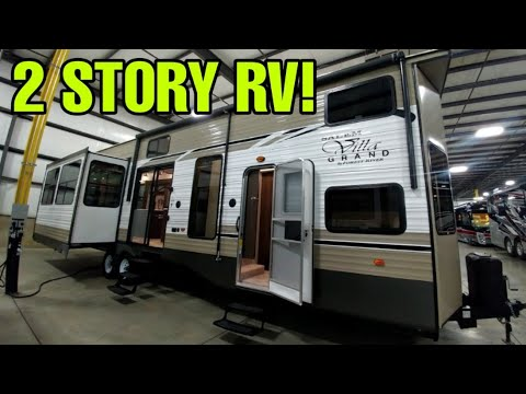 2 Story Travel Trailer RV! This Thing Is Amazing! Salem Destination Trailer!