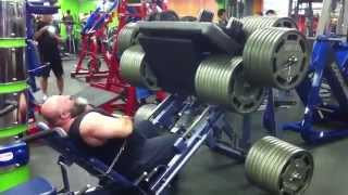 1700kg (3777lbs) leg press fail