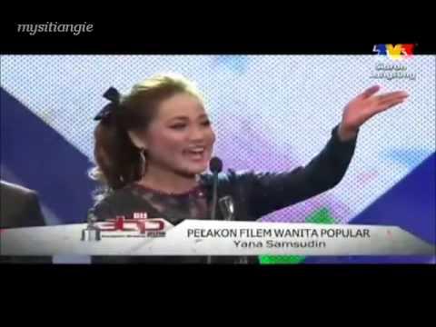 Yana Samsudin Pelakon Filem Wanita Popular @ ABPBH 2012