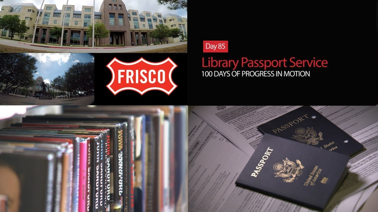 Day 85: Library Passport Service - 100 Days of Progress in Motion