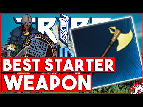 Tribes of Midgard - BEST EARLY GAME WEAPON!!! This Axe is Nuts! |