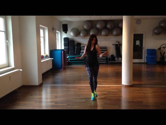 Natalie (Fitness dance) Mega Mix 46 (Salsa) que suenen los tambores