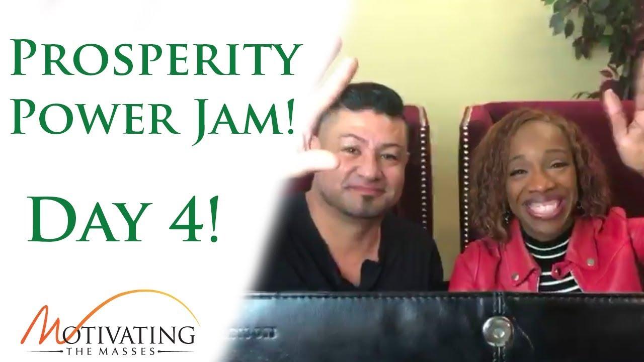 [Day #4] Power Jam With Lisa Nichols & Matt Gil!