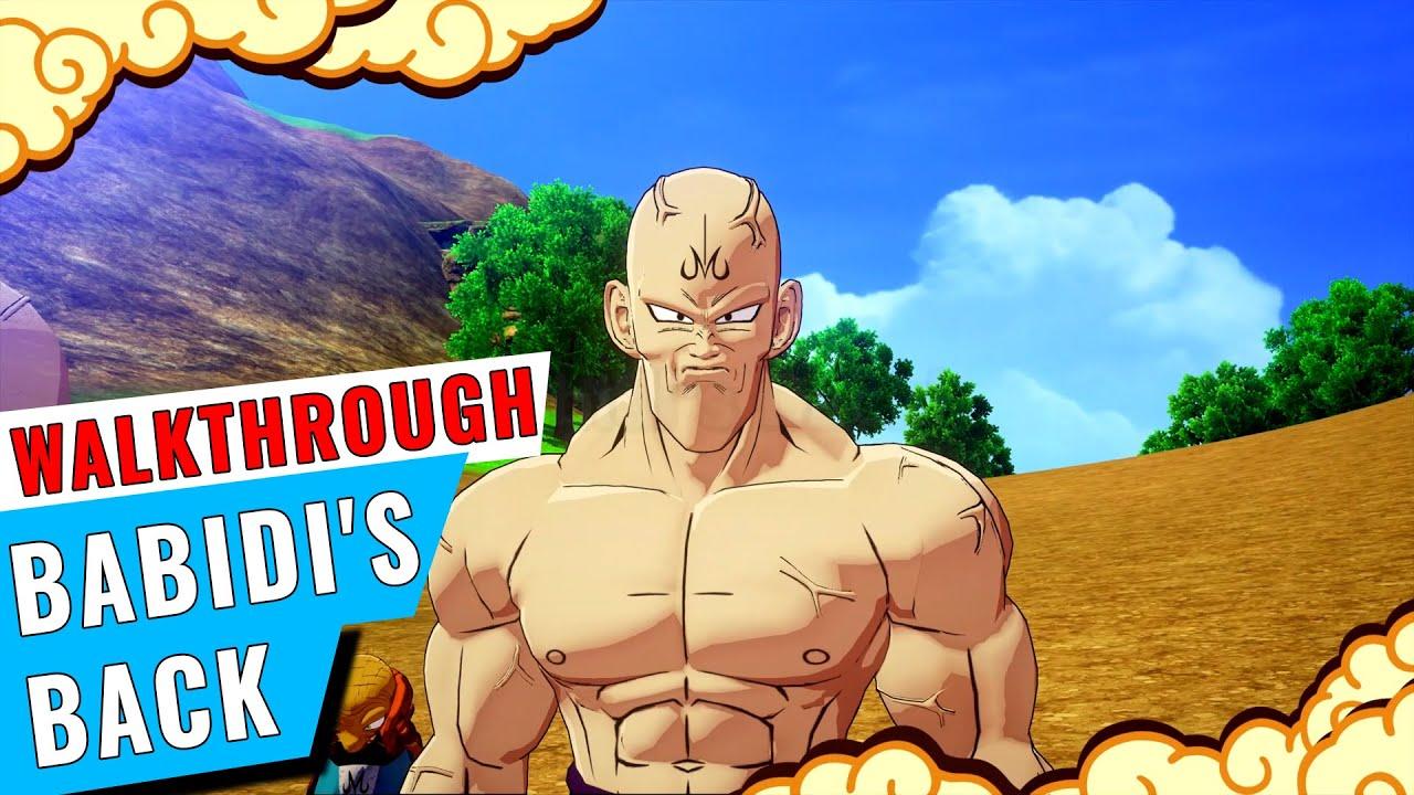 Spopovich Yamu Babidi Soul Emblems Dragon Ball Z Kakarot Babidi S Back Walkthrough Gameclubz Youtube