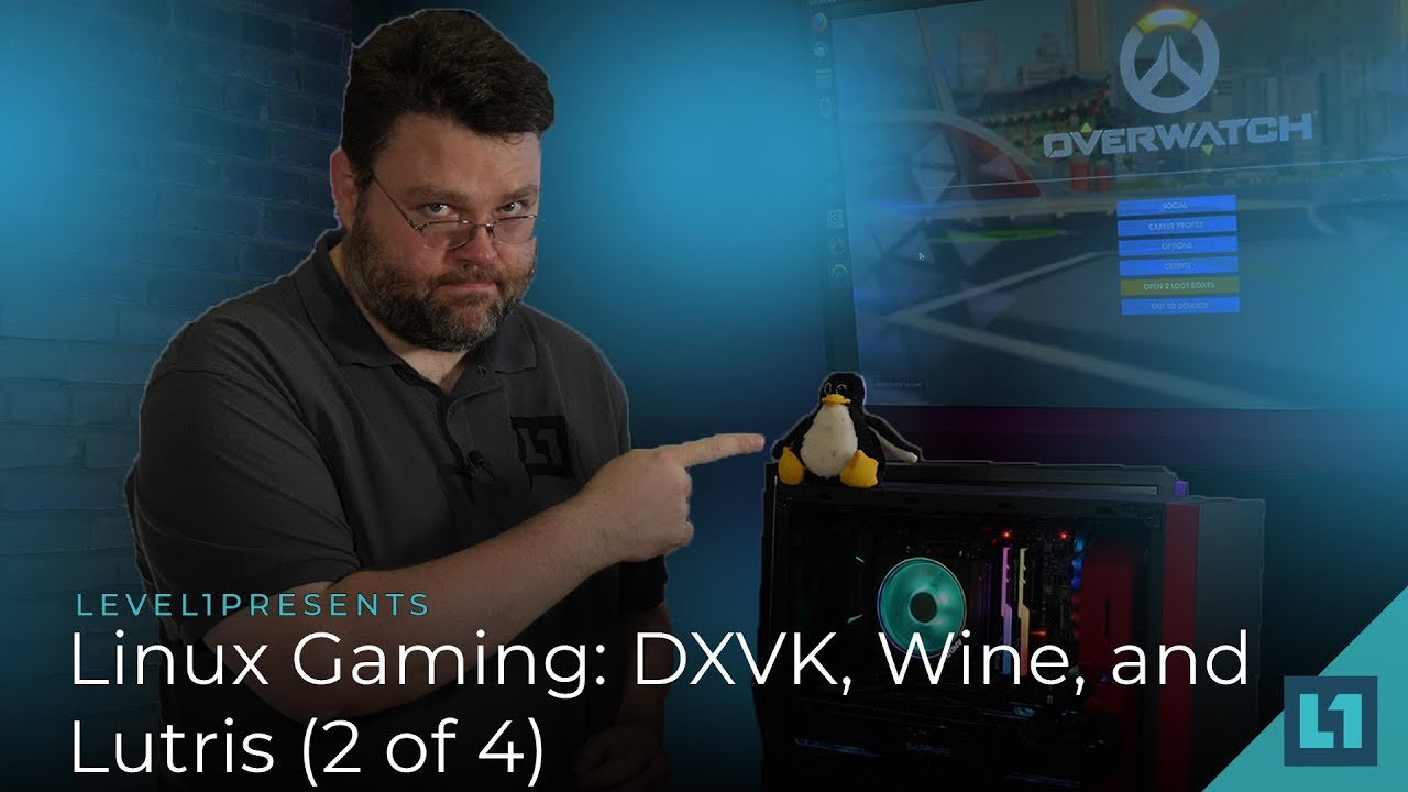 Linux Gaming: DXVK, Wine, and Lutris (Part 2 of 4)   Level One Techs