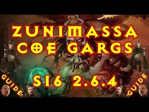 Diablo 3 Zunimassa CoE Gargantuan Witch Doctor Build S16 2.6.4