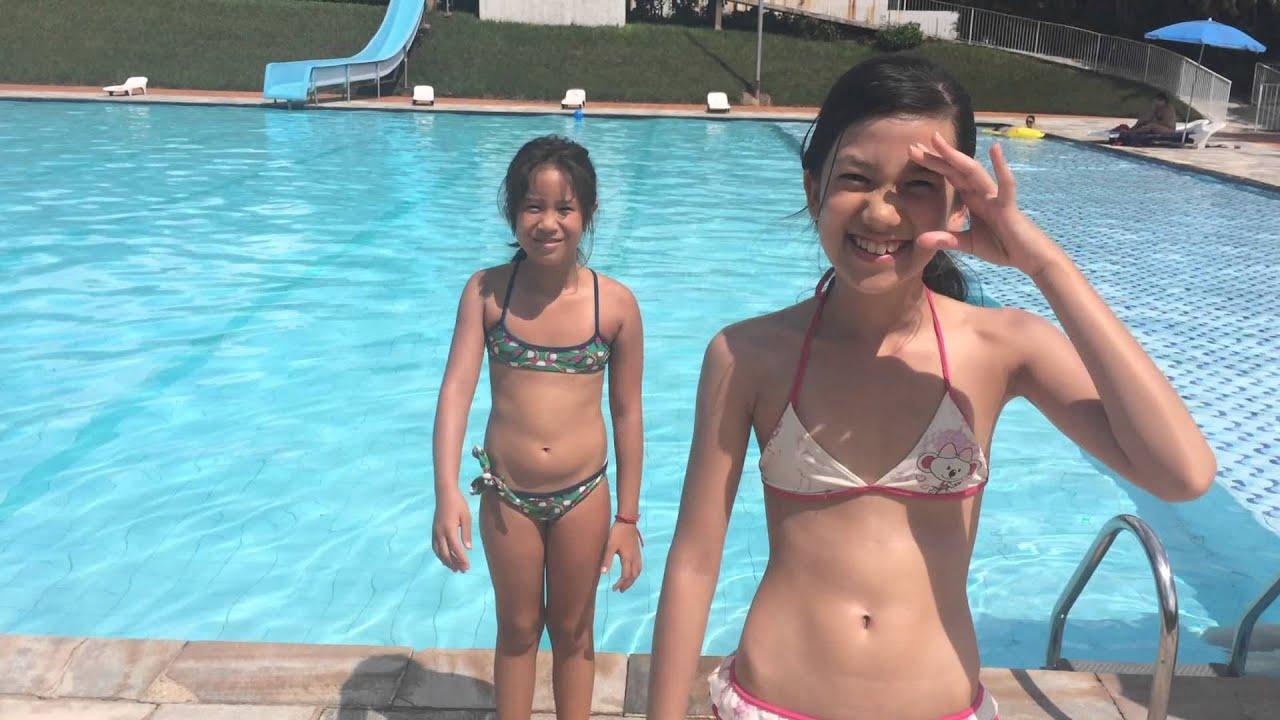 Desafio da piscina com a prima