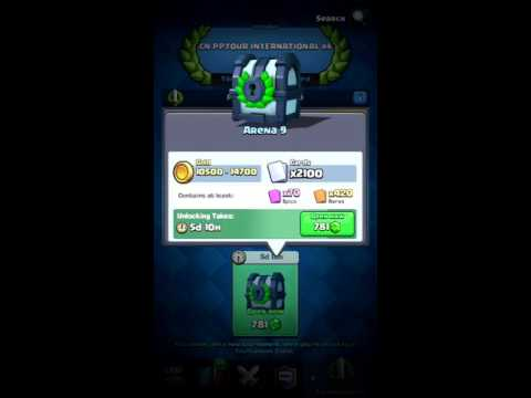 Opening A 2100 Card Tournament Chest! - Clash Royale (Double Legendary!)