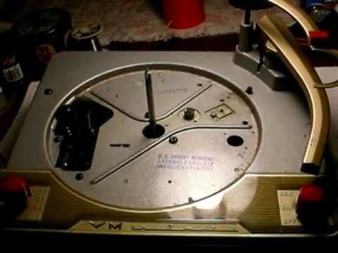 1956 Voice of Music 1200 series Record Changer Part 1