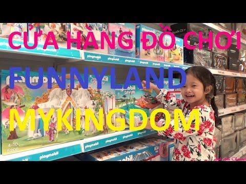 Dạo chơi cửa hàng đồ chơi Funnyland và MyKingdom ở siêu thị Aeon Mall, AnhAnhChannel.com