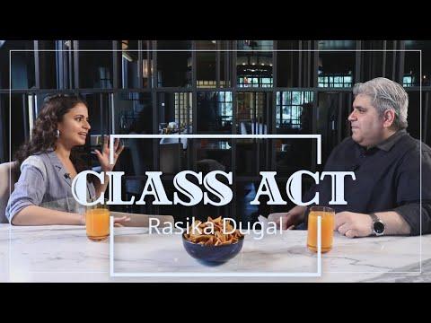 CLASS ACT: Rasika Dugal with Rajeev Masand I Delhi Crime I Manto I Mirzapur