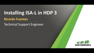 How to install Intel ISA-L on HDP 3.0?