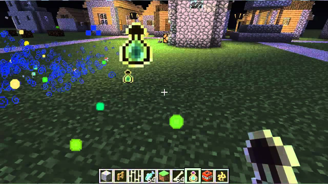 How to make a potion of experience in Minecraft