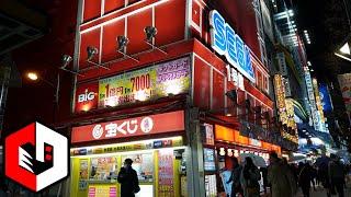 So Many UFO Catchers! Sega Akihabara Walk Through in Tokyo, Japan