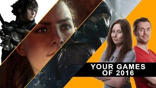The Best Games Of 2016 Reader Vote - Weekly Wrap Up Special
