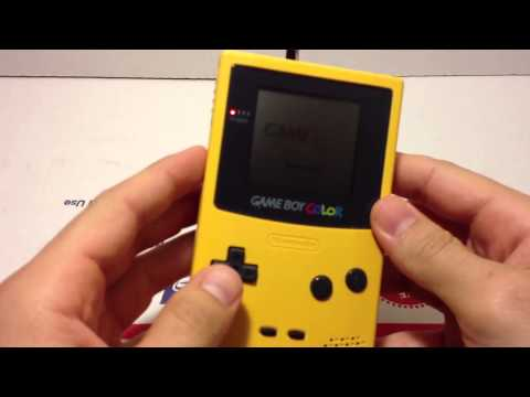 Game Boy Color Pokemon Yellow EBay Adept Merchant