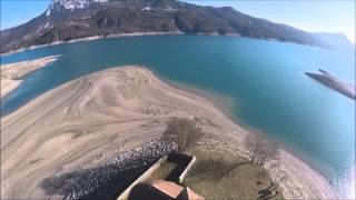 Baie St Michel hautes alpes, lac de serrre ponçon
