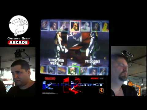 Killer Instinct Tournament Gameplay, Galloping Ghost Arcade 6/15/2013