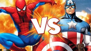 SPIDERMAN VS CAPTAIN AMERICA - Marvel Contest of Champions – Gameplay Part 1 | Pungence