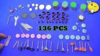 Para que serve cada acessório da micro retifica ? ( Kit 136 Pcs)
