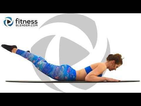 Pilates Butt and Thigh Workout 20 Minute Pilates Workout