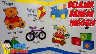 Belajar Bahasa Inggris untuk Anak-anak -  Kosakata Dasar Untuk Pemula