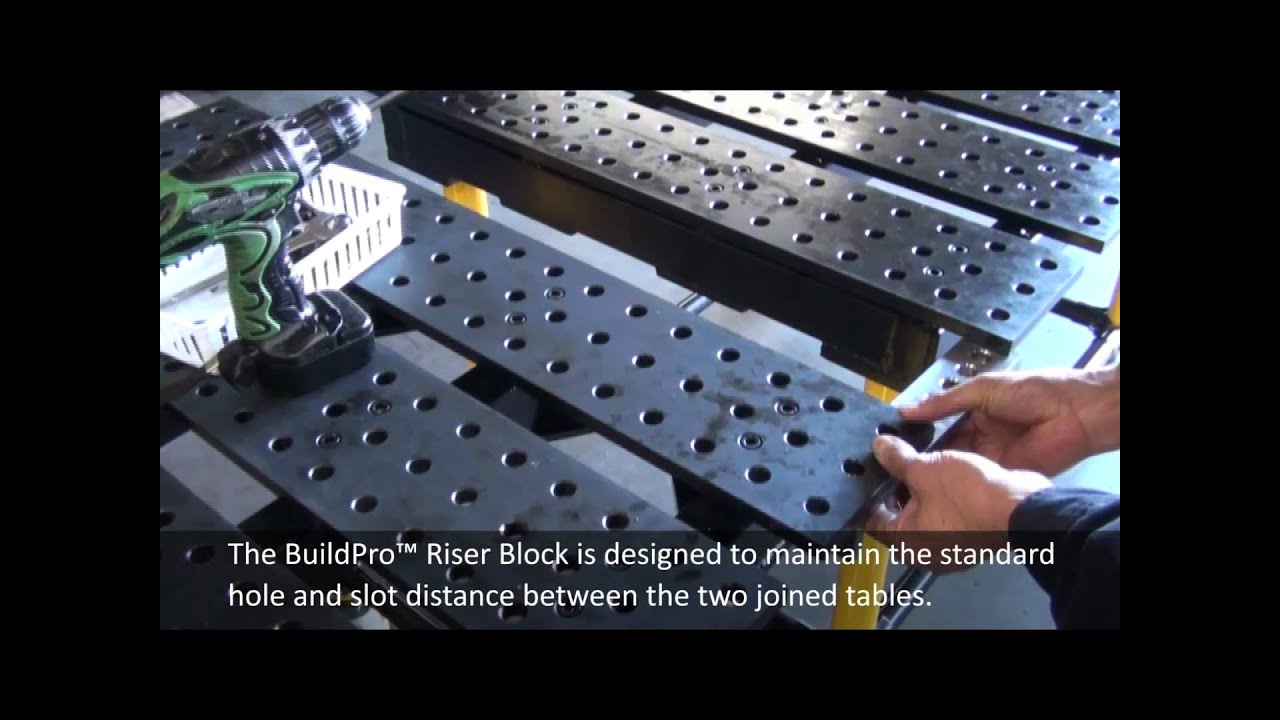 Expanding & Joining BuildPro Welding Tables - YouTube