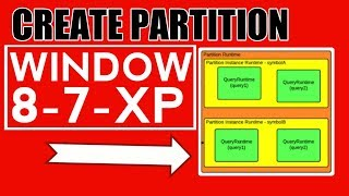 how to create partition in hard disk without formatting in windows 8 , 7 & xp
