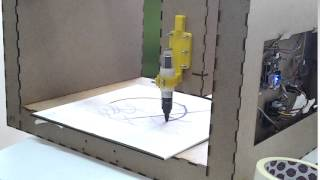Our drawing machine!