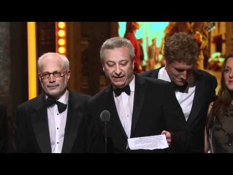 Acceptance Speech: Best Musical 2012