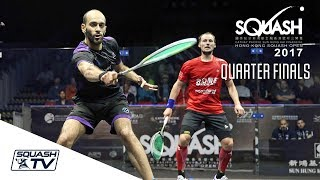 Squash: Hong Kong Open 2017 - Men's QF Roundup