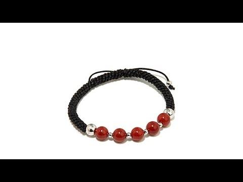Jade of Yesteryear Beaded Adjustable Macrame Bracelet. http://bit.ly/2LaaMmy